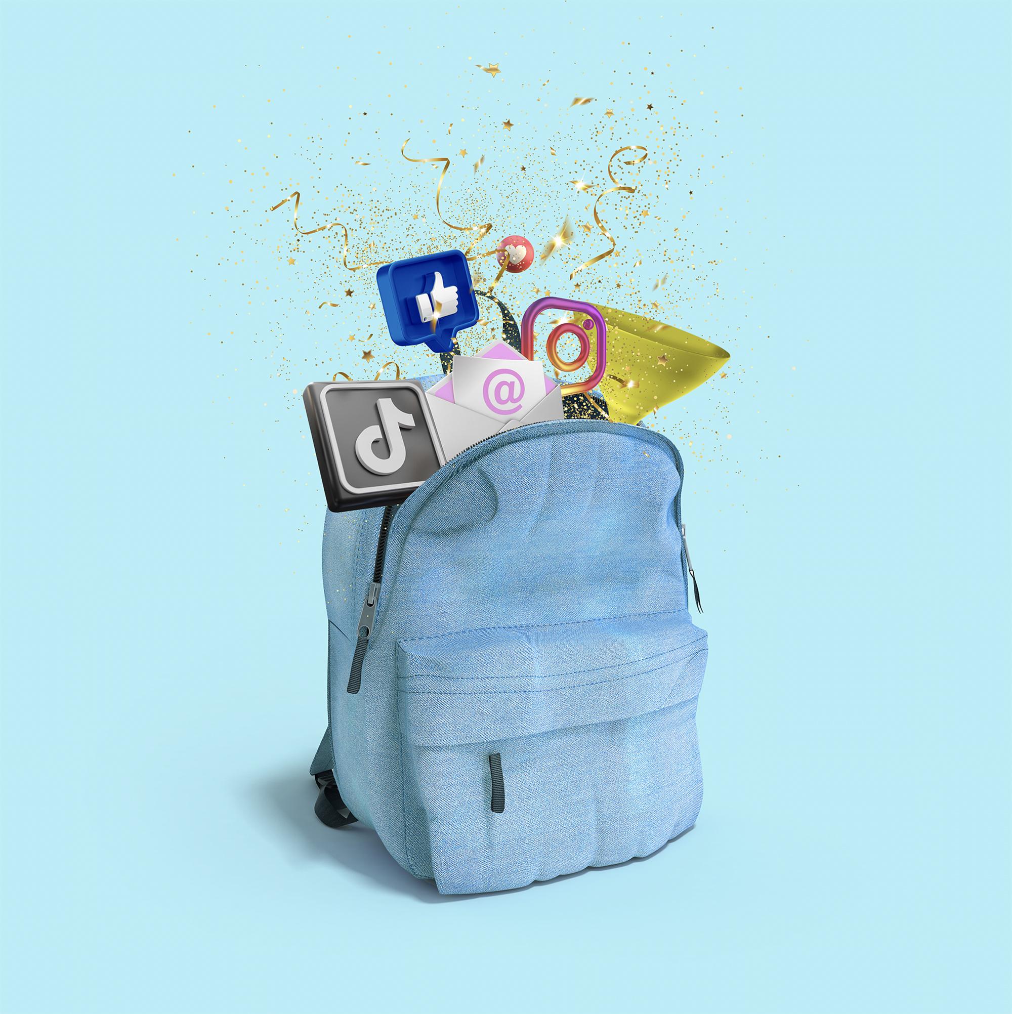 backpack throwback
