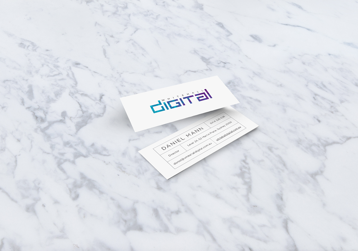 Whitehall Digital business card