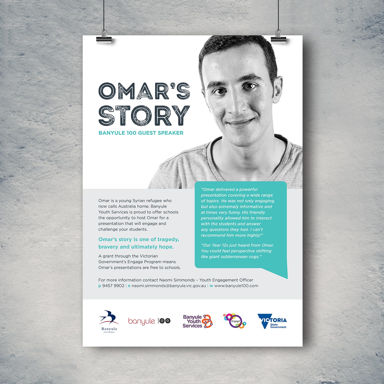 Omar poster design