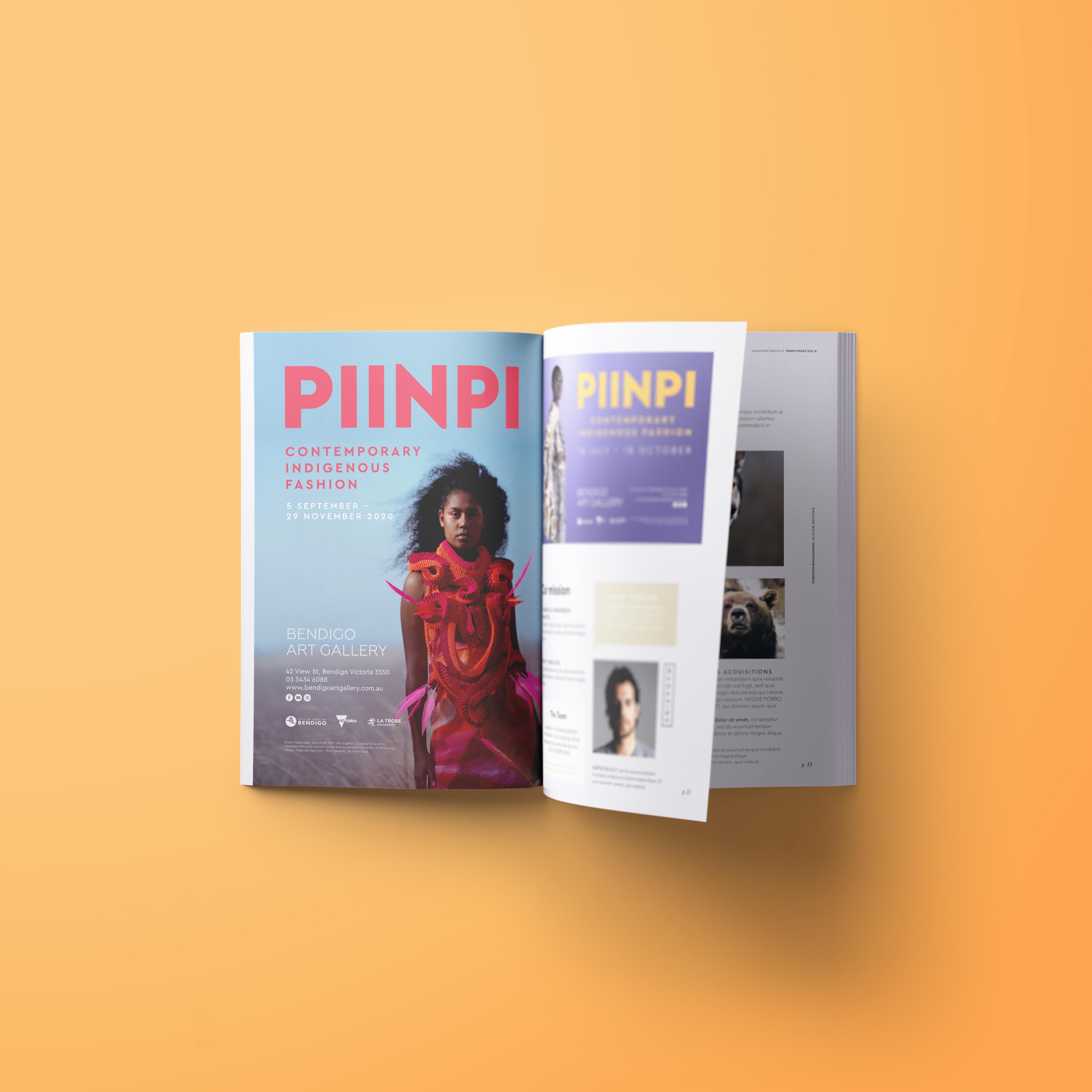 Piinpi advertising