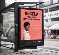 angela bus stop