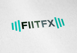 FiitFx logo design