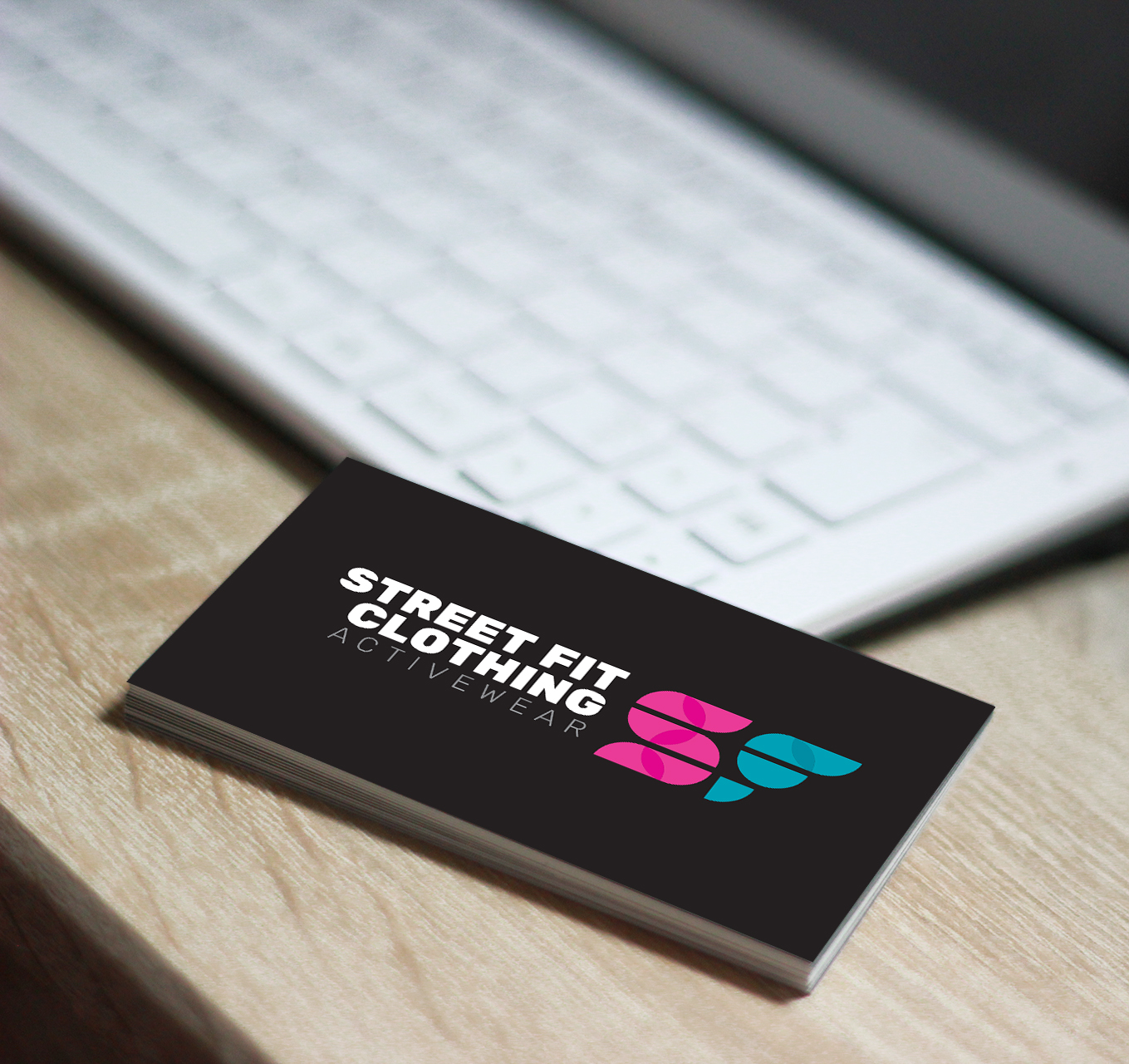Street Fit Clothing business card