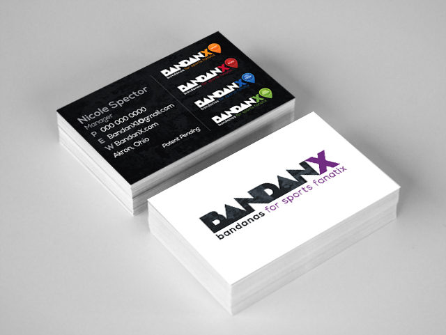 BandanX business cards