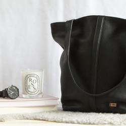 Hona leather handbag