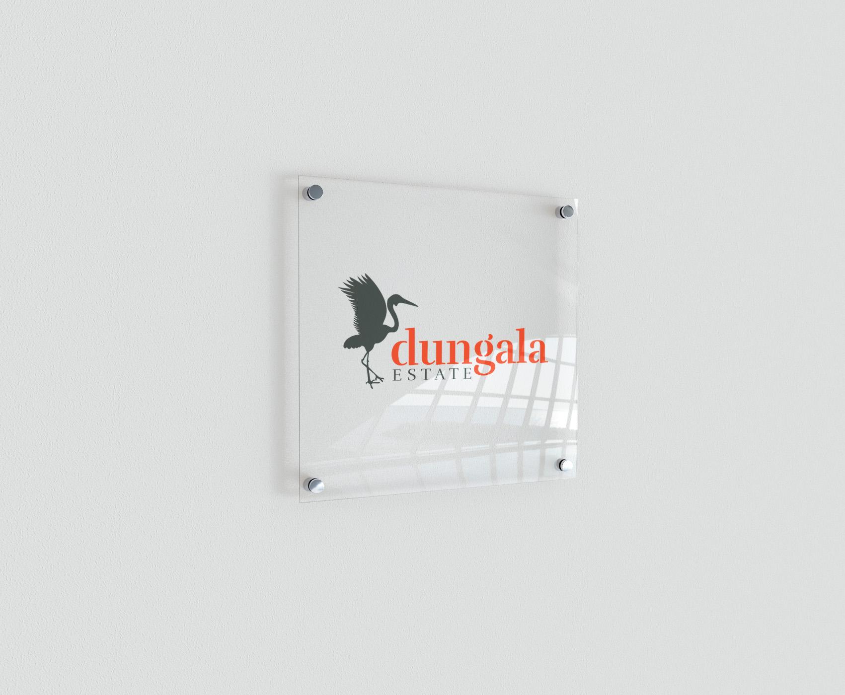 dungala estate sign