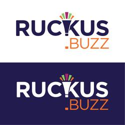 Ruckus.buzz logo design