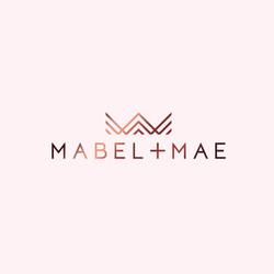Mabel + Mae logo design
