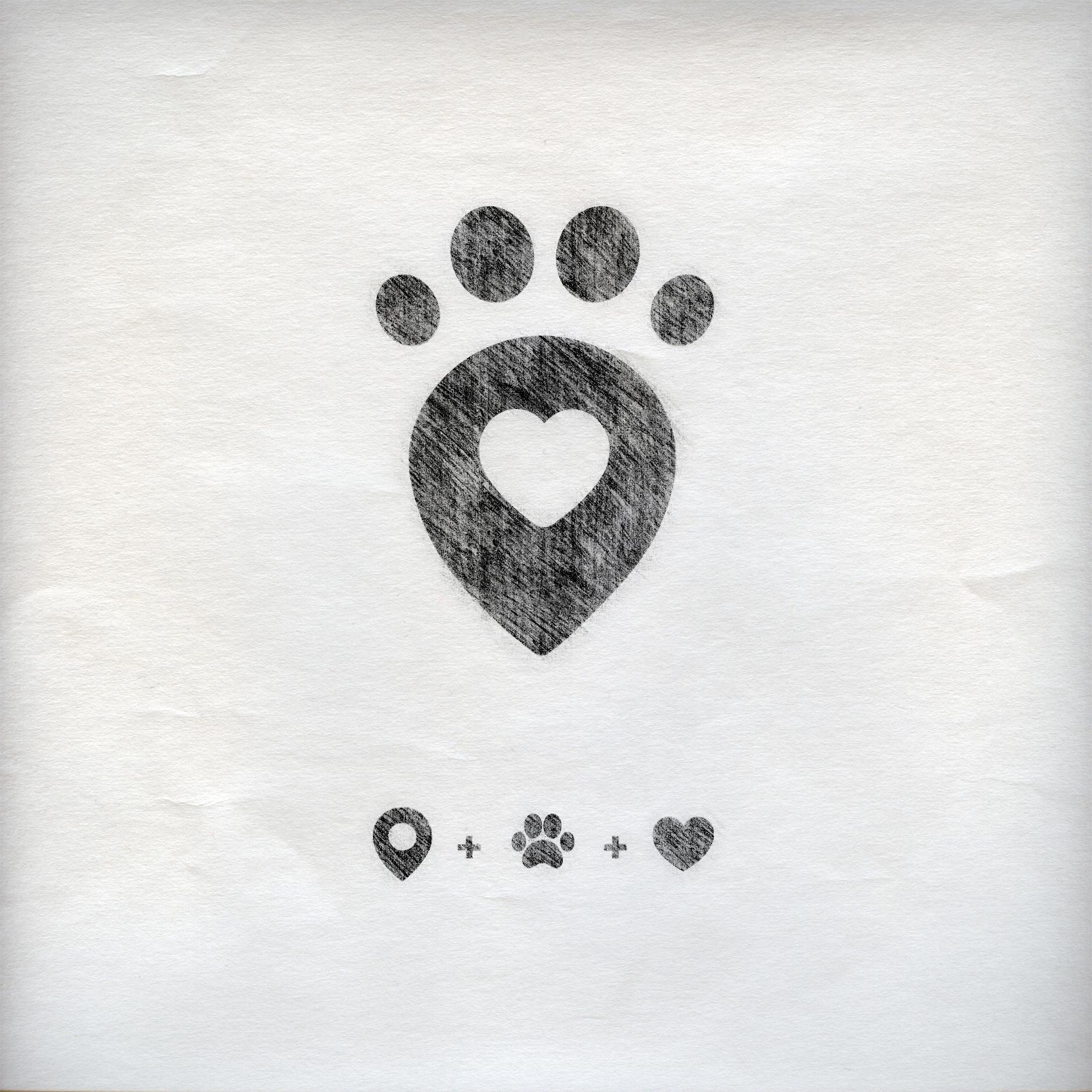 Toto logo sketch