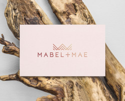 Mabel and Mae card