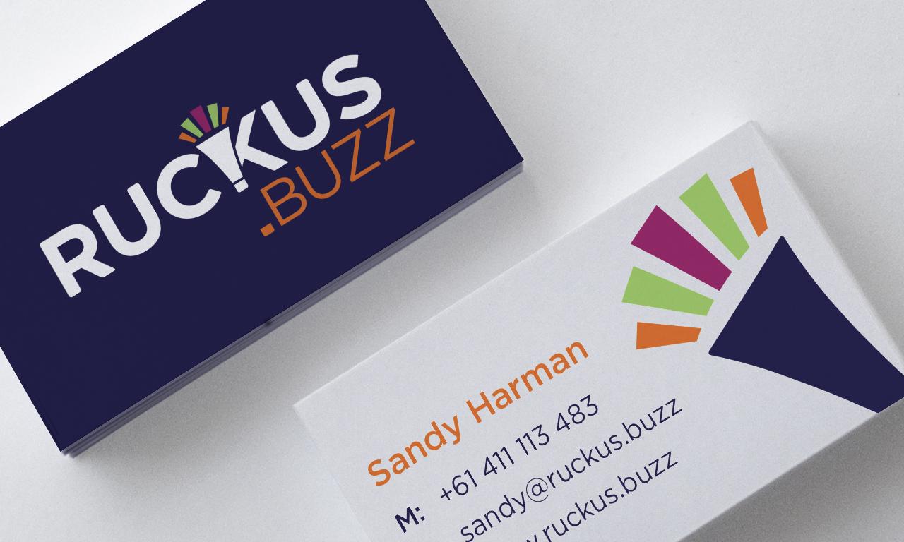 Ruckus.buzz business cards