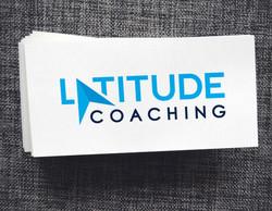 Latitude Coaching business cards