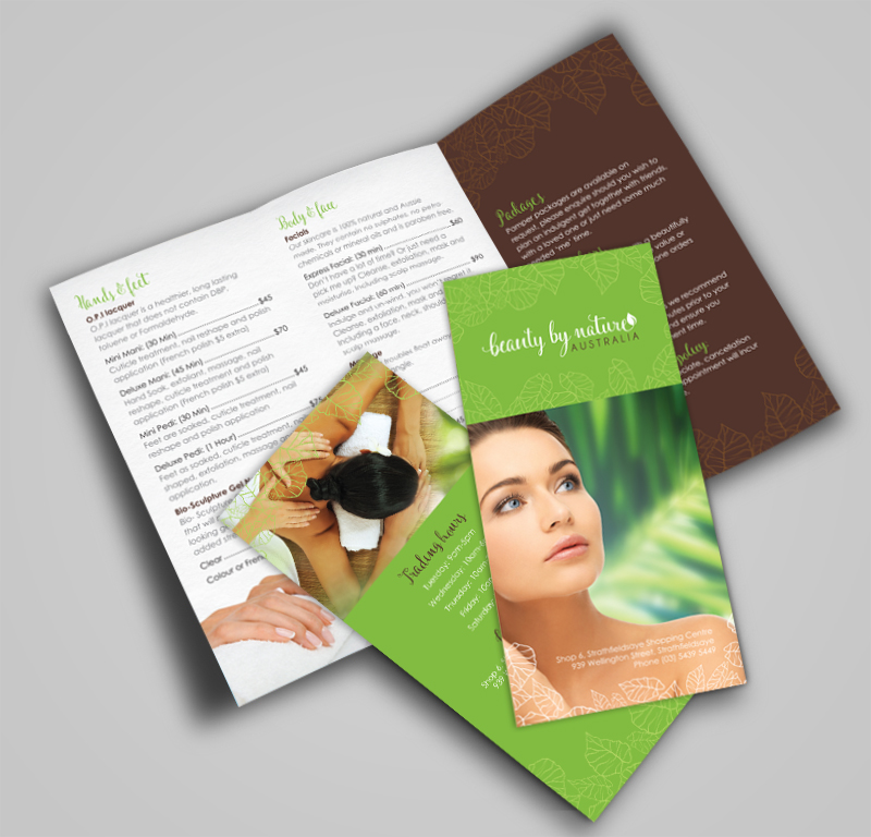 Beauty by Nature brochure