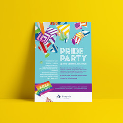 Pride Party poster 2