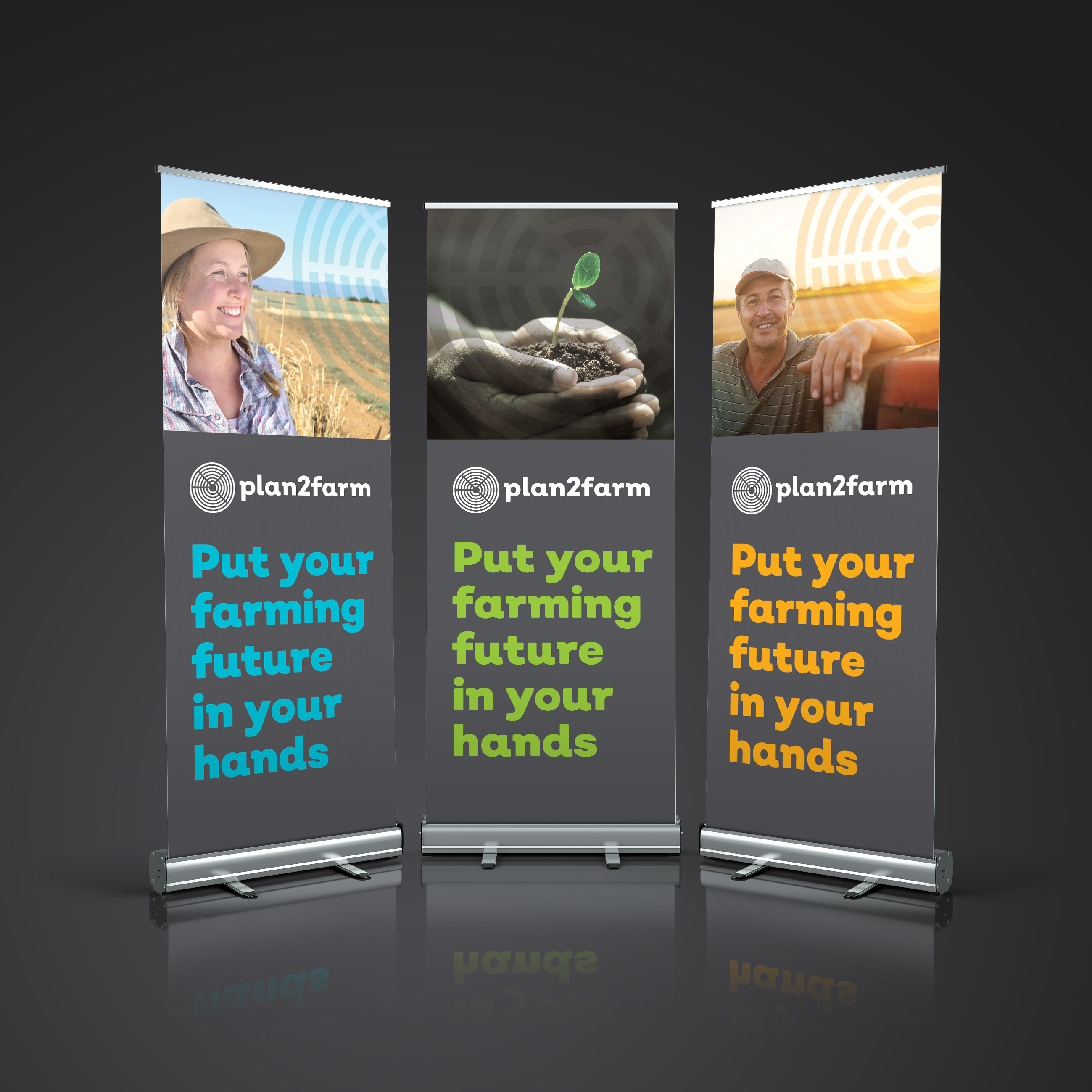 Plan2Farm banners