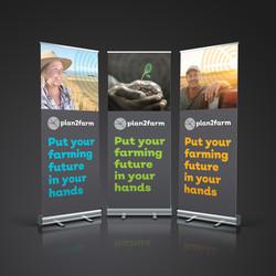 Plan2Farm banners