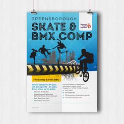 Skate & BMX comp flyer design