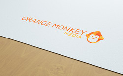 Orange monkey logo