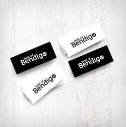 Best of Bendigo business cards