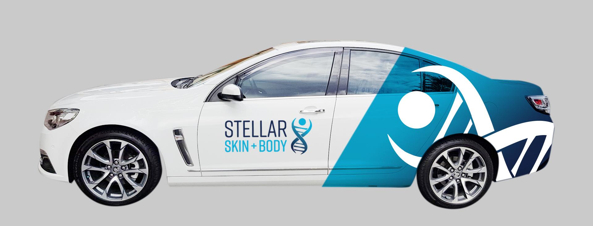 Stellar car signage