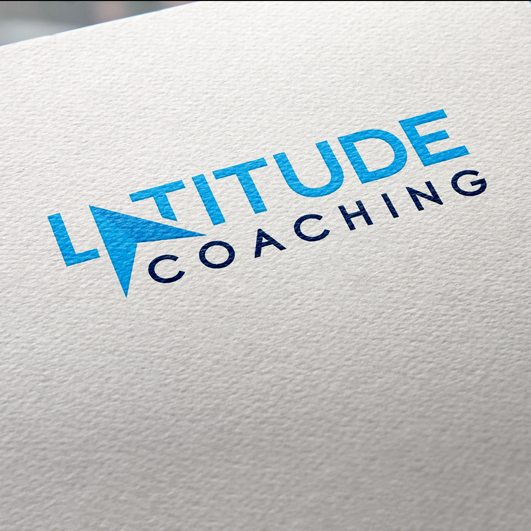 Latitude Coaching logo design