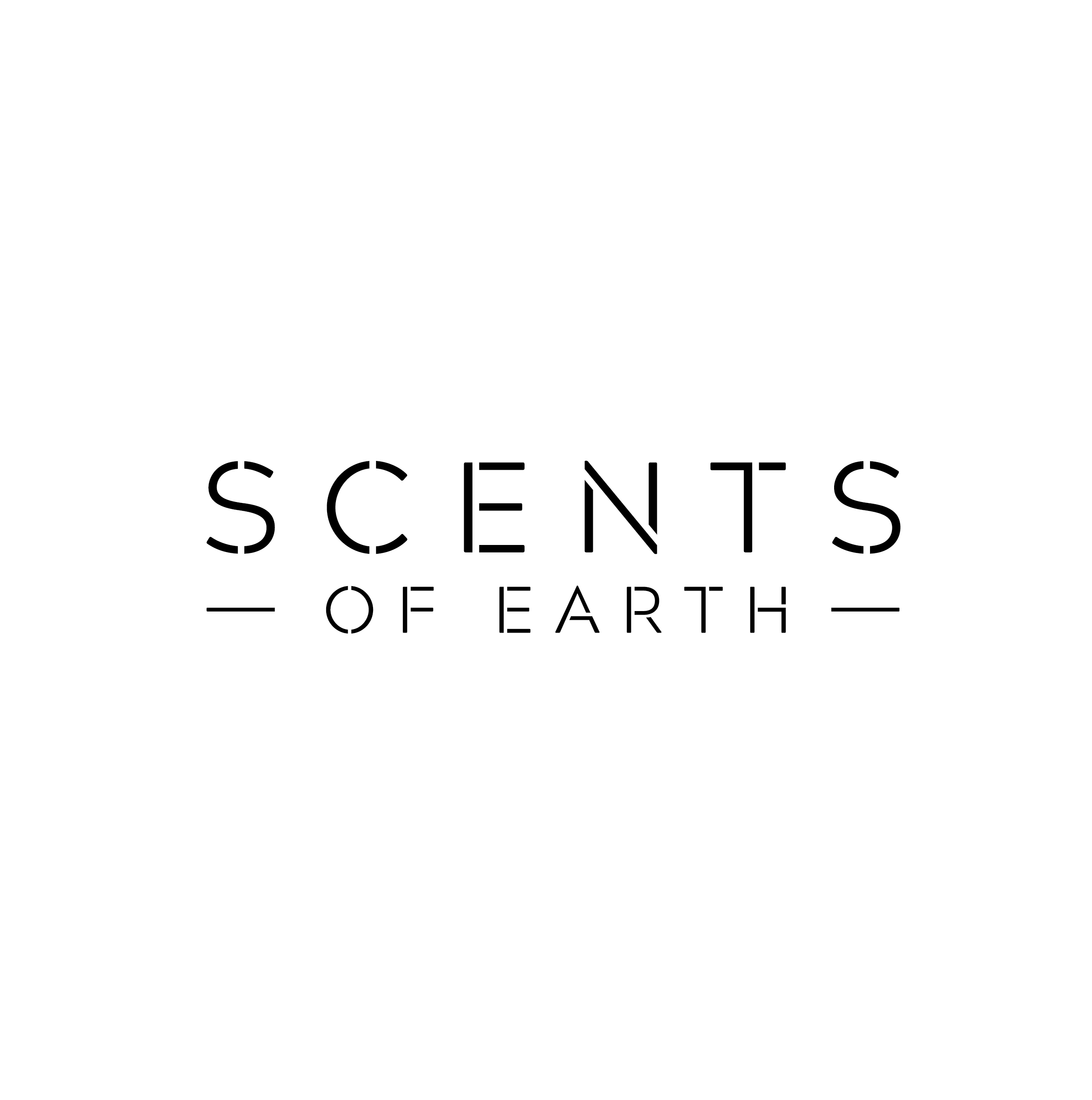 Scents of Earth logo design