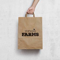 Stanopia Farms branding