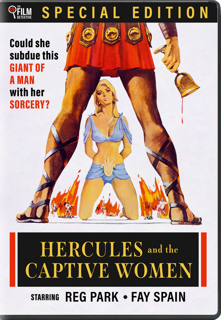 HERCULES AND THE CAPTIVE WOMEN (1963) - PRE-ORDER DVD