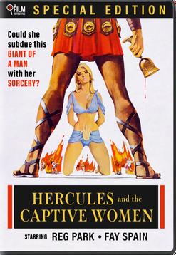 HERCULES AND THE CAPTIVE WOMEN (1963) - DVD