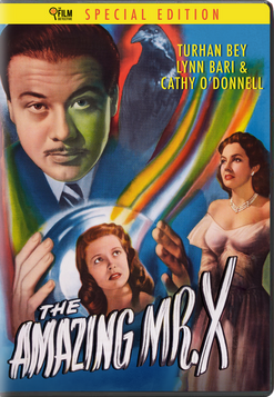 THE AMAZING MR. X DVD - PRE-ORDER NOW