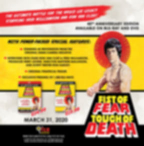 Fist of Fear Touch of Death_Classic Imag