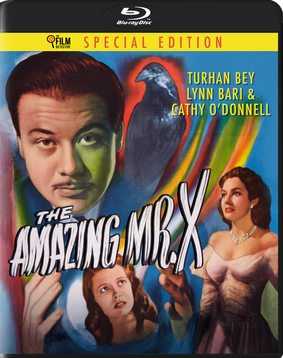 THE AMAZING MR. X BLU-RAY - PRE-ORDER NOW
