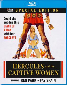 HERCULES AND THE CAPTIVE WOMEN (1963) - PRE-ORDER BLU-RAY