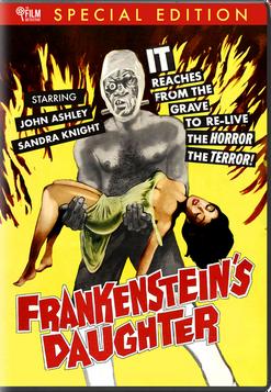 FRANKENSTEIN'S DAUGHTER DVD - PRE-ORDER NOW