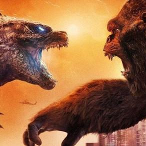 Godzilla VS Kong | Monstros se enfrentam em terra e mar nos novos pôsteres