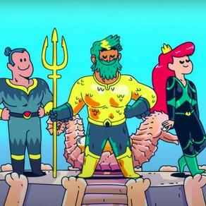Aquaman: King of Atlantis | WarnerMedia Kids & Family e DC lançam primeiro video promocional