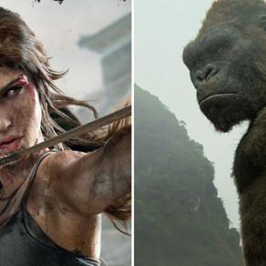Kong: Ilha da Caveira e Tomb Raider receberão séries de animes