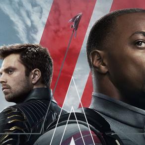 Falcão e o Soldado Invernal   Série ganha novo pôster estampando Sam como Capitão América