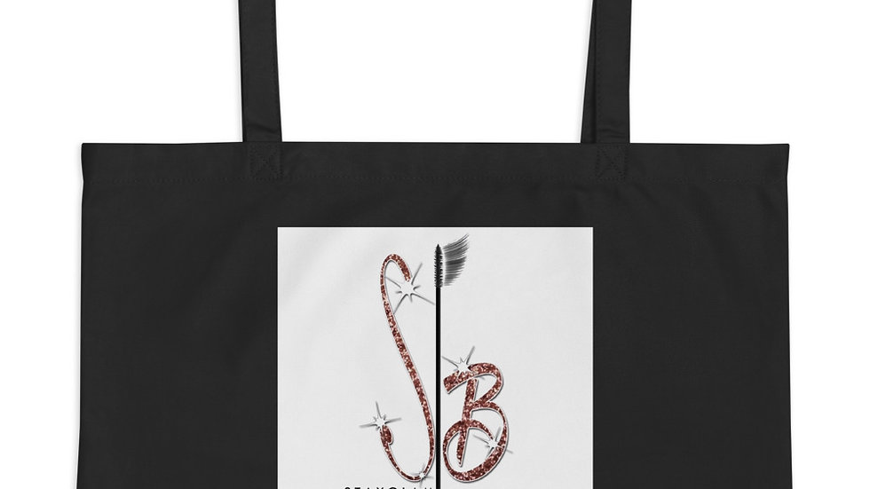 Stayglam Large organic tote bag.