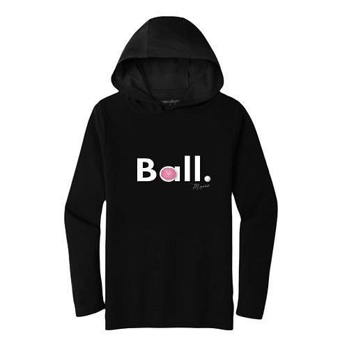THINK BALL (Hoodie) - Black