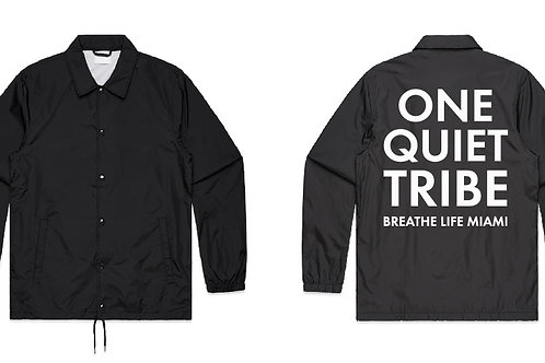 One.Quiet.Tribe - Coach Jacket