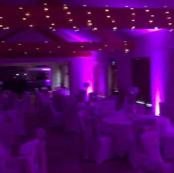 Ready for wedding reception
