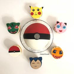 Pokeman Cake & Cupcakes
