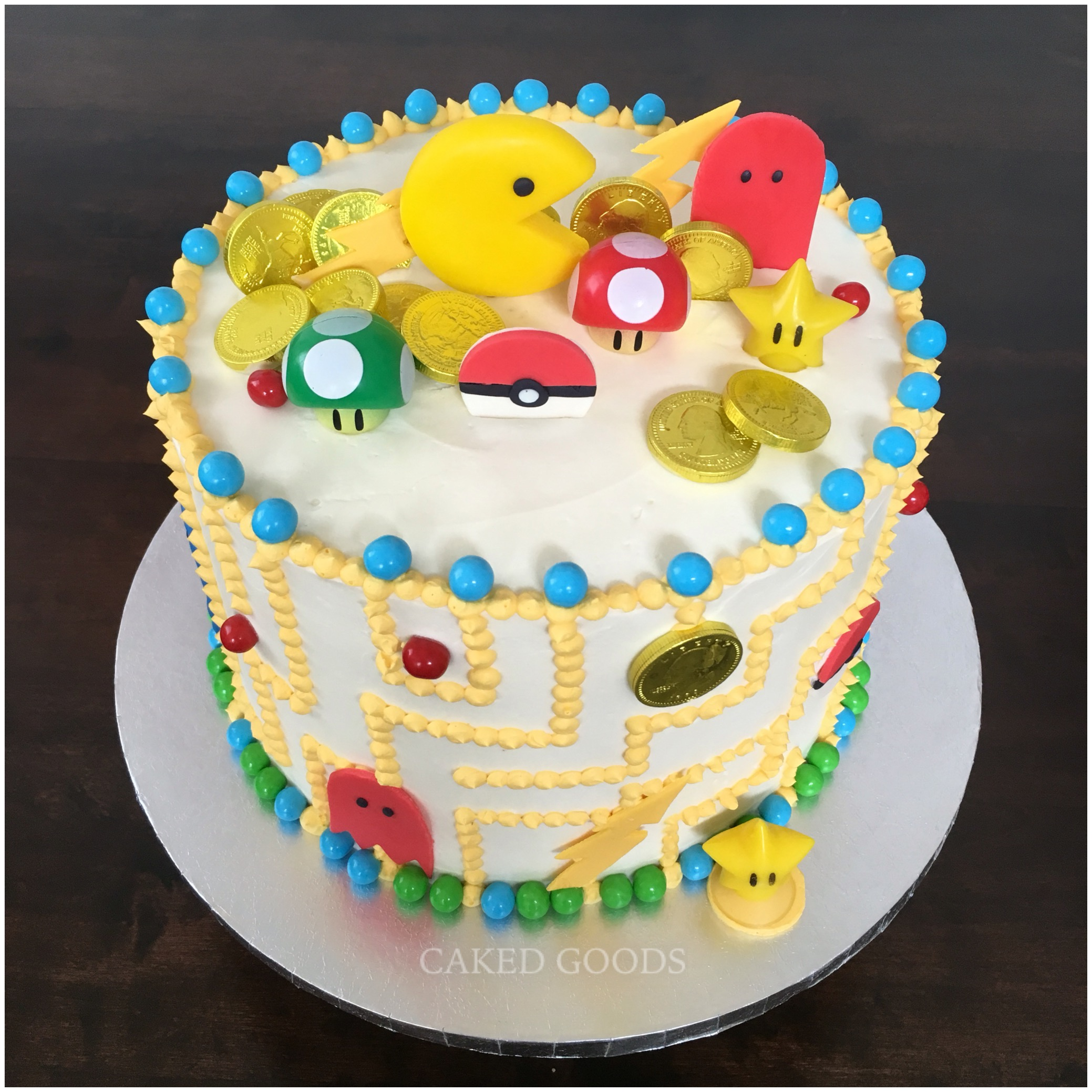 Video Games Cake