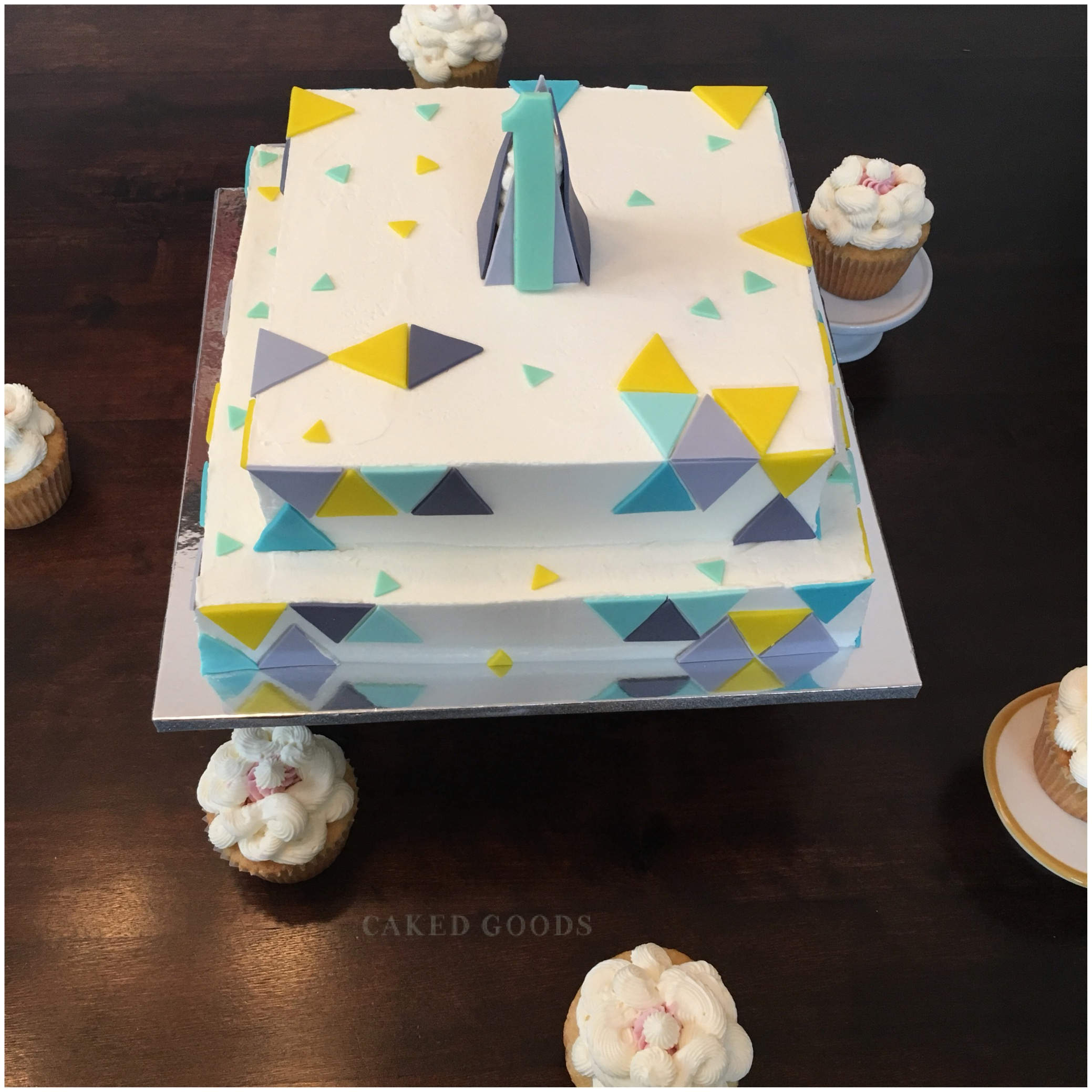 Shapes Birthday cake