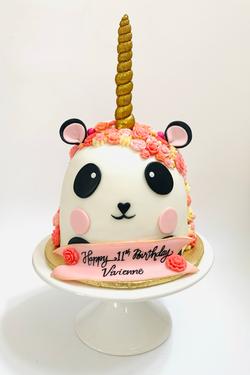 Pandicorn Cake 9.20
