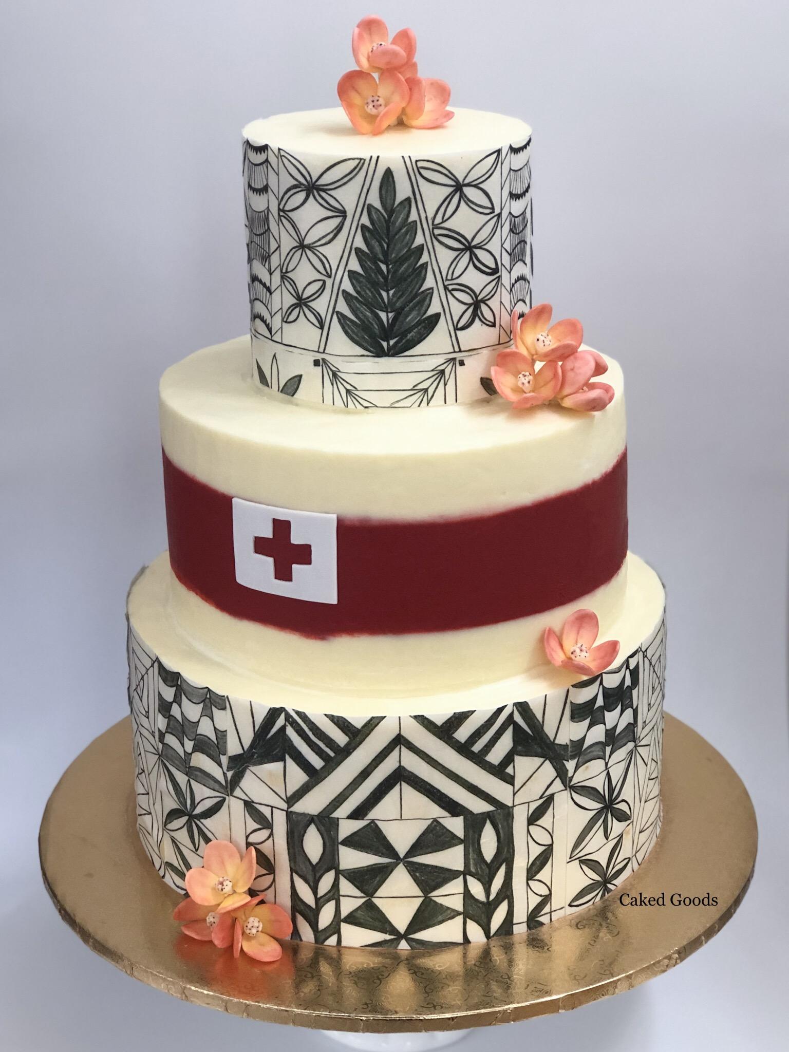 Tonga Inspired Cake