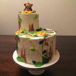 Monkey Around Cake