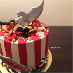 Pirate Treasure cake