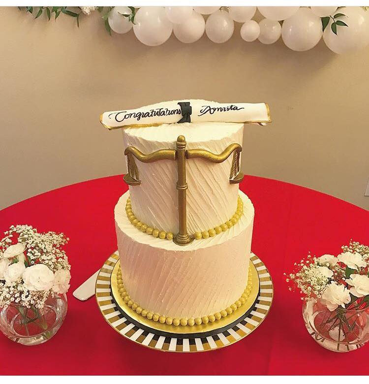 Law Graduate Cake